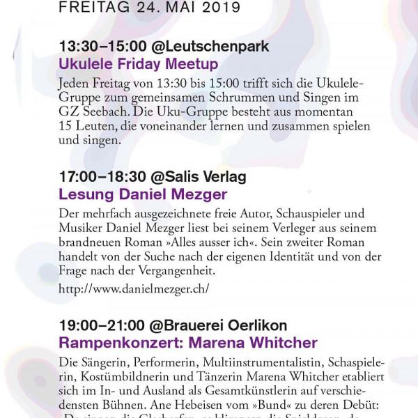 Thumbnail for Programm Freitag